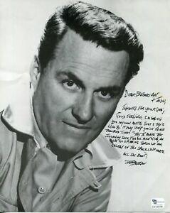 Richard-Coogan-Captain-Video-The-Californians-Laramie-Signed-Autograph-Photo-COA