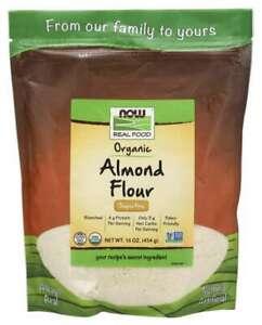Now-Foods-Organic-Superfine-ALMOND-FLOUR-16-oz-PALEO-KETO-FRIENDLY-NON-GMO