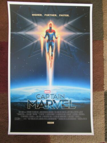 """T10 Movie Collector/'s Poster Print 11/"""" x 17/"""" Captain Marvel - B2G1F"""