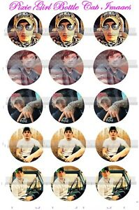 Details about Ryan Upchurch The Redneck Country Rap music 15 Precut Bottle  Cap Images