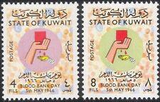 Kuwait 1966 Blood Bank Day/Donation/Donors/Medical/Health/Welfare 2v set n45836