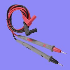 1000V 10A Banana Plug Multimeter Probe Test Cable 1.1m Multimètre câble de teste