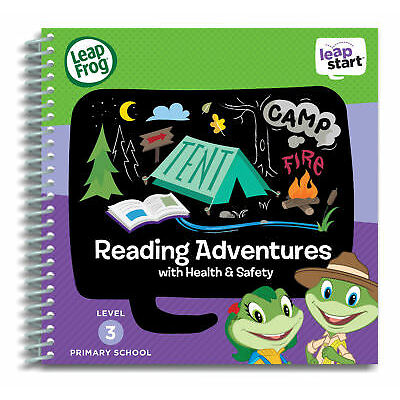 Leapfrog Leapstart Level 3, Reading Adventures 30+ Page Activity Book