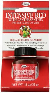 Quiko Intensive Red with Canthaxanthin for Red-Factor Canaries Vitamin & Mine...