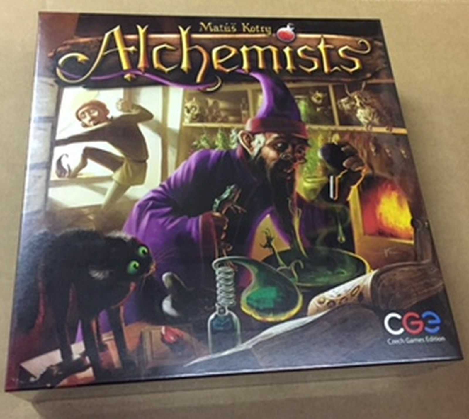 Alchemist Board Game by Czech Games Edition L@@K  L@@K
