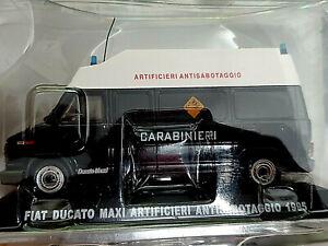 Fiat-Ducato-Maxi-Artificieri-1995-Carabinieri-Scala-1-43-Atlas-Nuovo