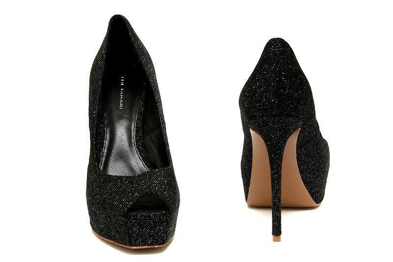 NEW Elie Tahari Kendra Pump Peep Toe Heels 8 women's shoes sz US 8 Heels EUR 40.5 65118b