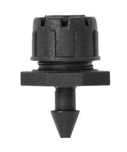 Ribiland 0010 gocciolatori regolabili 1 bar max0-50 L/h 10 pezzi nuovo nero