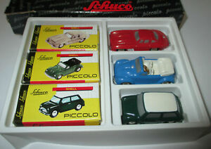Schuco-Piccolo-01238-034-Geschenkset-3-034-Neu-OVP