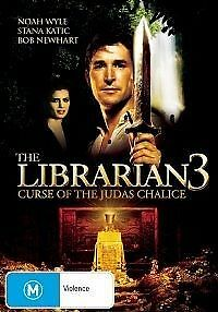 1 of 1 - The Librarian 03 - The Curse of the Judas Chalice (DVD, 2009)