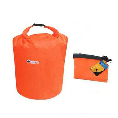 1pc 20L Orange Waterproof Dry Bag For Canoe Kayak Rafting Camping Hiking Sports