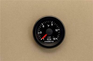 """EVA 2 1//16/"""" Pyro EGT Pyrometer 1500 R3607GR Gauge Only Isspro Autometer"""