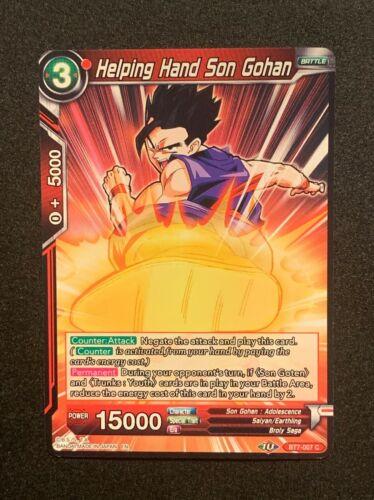 Red Helping Hand Son Sohan BT7-007 C Dragonball Super