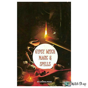 Book-GYPSY-WITCH-MAGIC-amp-SPELLS-by-Donna-Rose-Luck-Spells-Mojo-Bags-Dreams