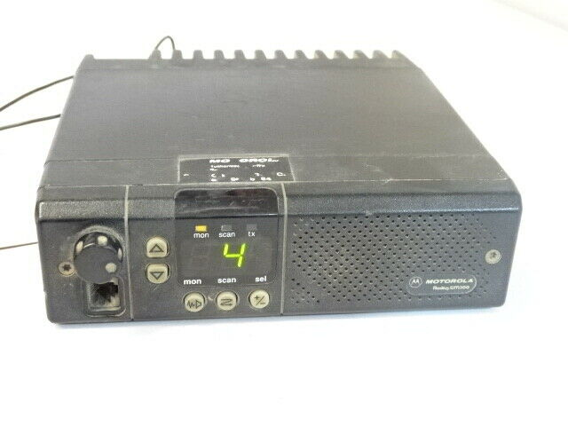 Motorola GM300 Two Way Radio Model M43GMC20D2AA. Buy it now for 98.00