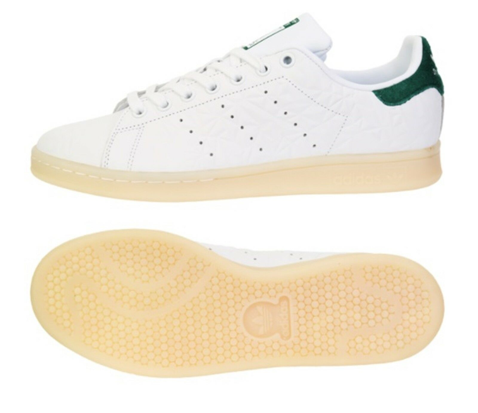 033718b3752f9 Adidas Men Original Stan Smith Training shoes White Running Sneakers shoes  S82253