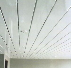 bathroom ceiling tiles panels gloss white chrome bathroom cladding kitchen ceiling 15707