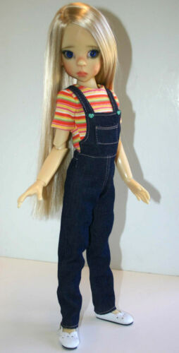 So Cute Overall /& Skirtall Doll Clothes Sewing Pattern46cm Kaye Wiggs MSD Dolls