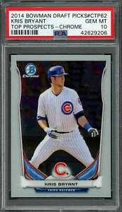 2014-bowman-draft-picks-top-prospects-chrome-ctp62-KRIS-BRYANT-rookie-PSA-10
