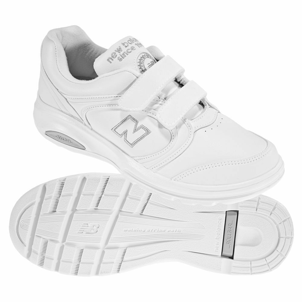 Womens  NEW BALANCE 812 WHITE Walking shoes sz 6.5 B Med Stabilizing Rollbar