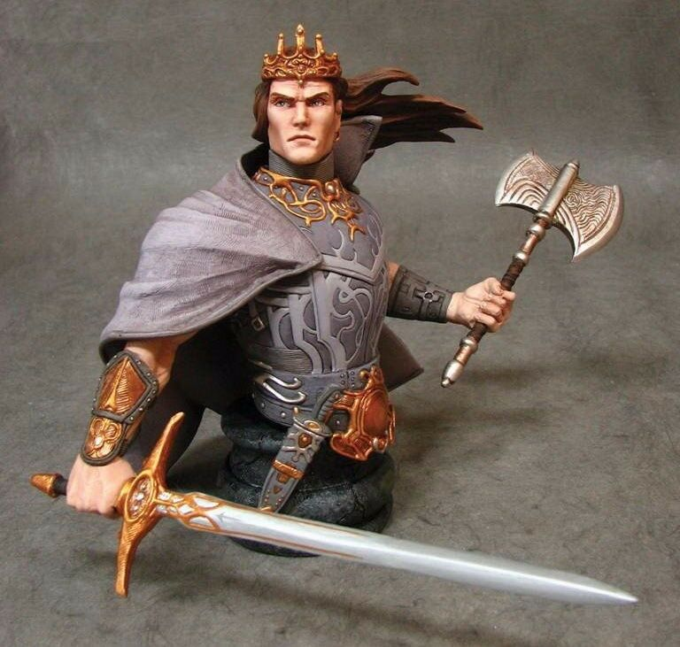 Dark Horse Deluxe KULL THE SAVAGE SWORD Mini Bust LIMITED