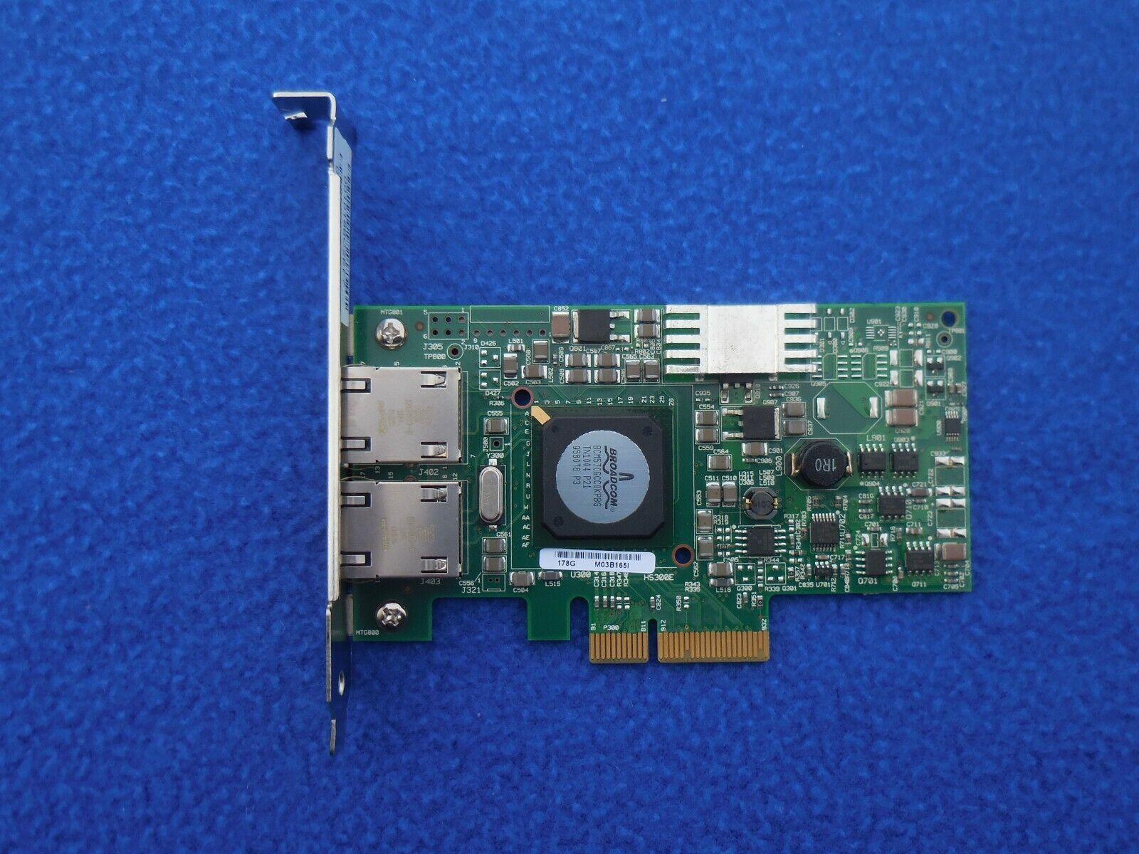 Broadcom 0G218C BCM95709A0907G Dual Port PCI-e Gigabit Ethernet Network Card