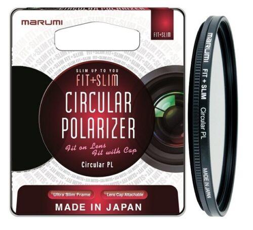 FTS82CIR Marumi 82mm Fit Slim Circular Polarising Multi-Coated Filter