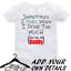 Personalised-Custom-BabyGrow-Vest-Bodysuit-Puke-Just-Like-Auntie-Uncle-Daddy-Mum thumbnail 2