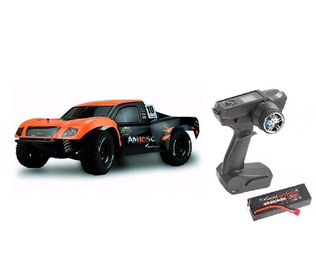 Amewi am10sc v2 SHORT COURSE BRUSHLESS 2,4 GHz M 1:10 4wd SET COMPLETO NUOVO