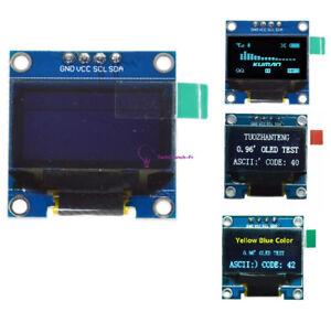 0-96-034-Yellow-Blue-White-128X64-OLED-I2C-IIC-Serial-LCD-LED-SSD-Display-SSD1306
