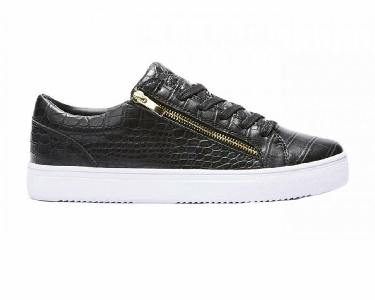 Certified London L7FW0022 BMO Cupsole Mens Trainers Black Shoes