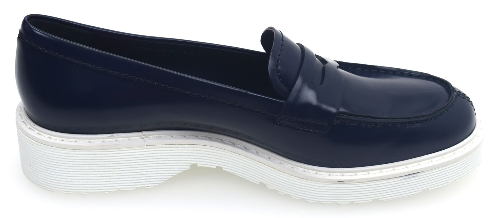 PRADA WOMAN LOAFERS chaussures CASUAL CASUAL CASUAL FREE TIME LEATHER CODE 3D5944 bde908