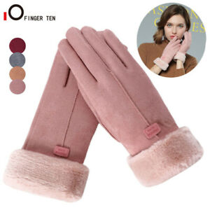 Womens-Winter-Warm-Touchscreen-Gloves-Thermal-Soft-Lining-Elastic-Cuff-Texting