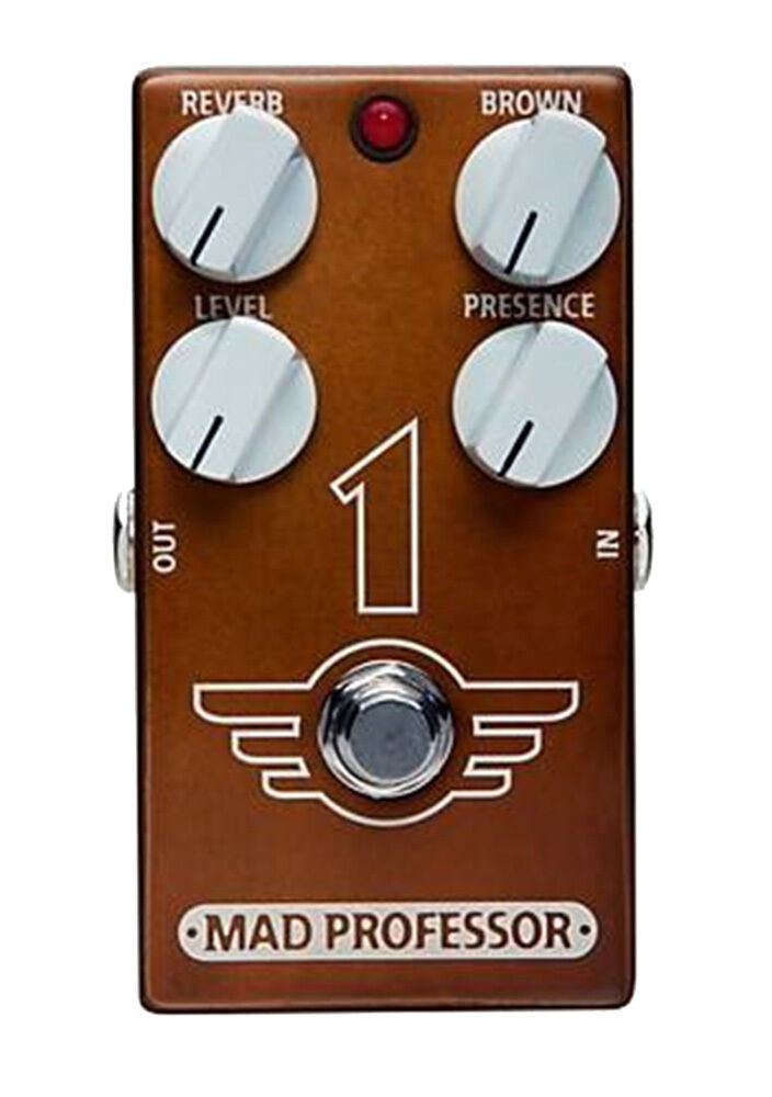 Mad Professor 1 Verzerrung   Hall Pedal