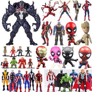 Venom-Carnage-Superheld-Spiderman-Deadpool-Harley-Quinn-Action-Figur-Figuren-Toy