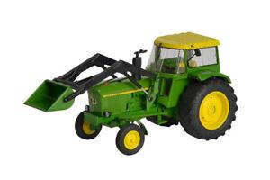 Schuco 450767800 - John Deere Agritechnica 2015 1:3 2, Vert/jaune
