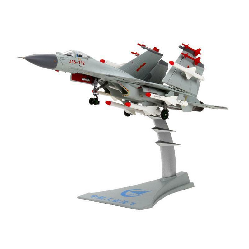 Jet Toys Gift Fighter Model Collection J-15 Carrier Based Plane Aircraft 1 72