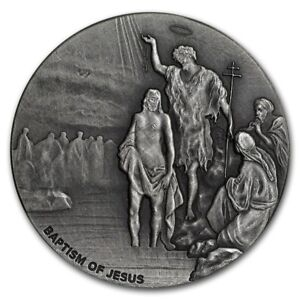 Baptism-of-Jesus-Christ-2-oz-999-silver-coin-Biblical-series-Bible-Story-2017