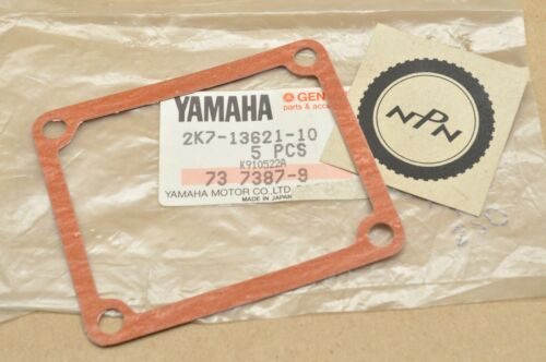 NOS OEM Yamaha WR250 YZ125 YZ250 Reed Valve Seat Gasket 2K7-13621-10