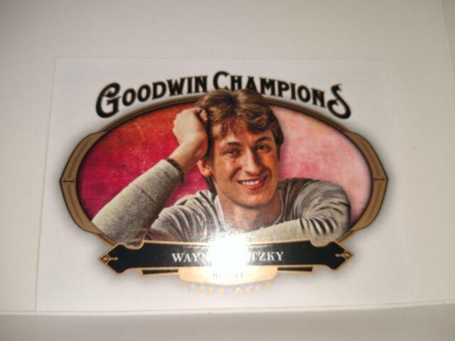 WAYNE GRETZKY 2020 GOODWIN CHAMPIONS HOCKEY FREESHIP | eBay