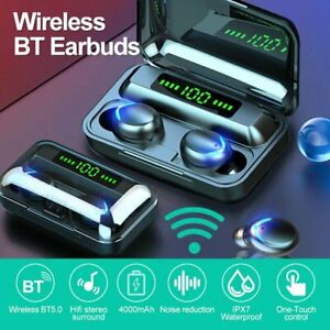 New-Bluetooth-5-0-Headset-TWS-Wireless-Earphones-Mini-Earbuds-Stereo-Headphones
