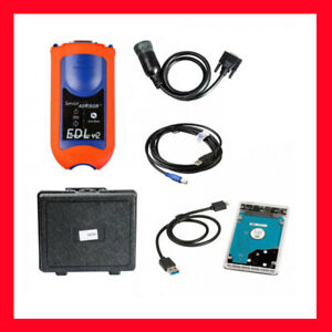 V4.2 John Deere Service Advisor EDL V2 Diagnostic Kit JD ... John Deere D Wiring Harness Diagram on