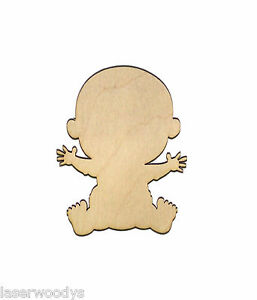 Sweet Baby Unfinished Wood Shape Cut Out Sh4266 Crafts