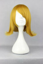 Cosplay Wig Vocaloid Kagamine Len Short Hair Blonde Golden Anime Hair + free Cap