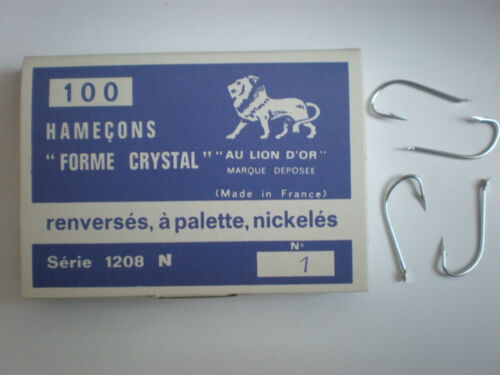 HOOKS CANNELLE SERIES 1208 N 100 AMI AU LION D/'OR