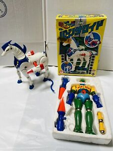 Jeeg Robot & Antares Augers IN Tip 1978 Takara Vintage Kotetsushin Jeeg