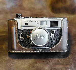 Leica M5 Patagonean Case-Real Hand made-Perfect FIT: Must Have
