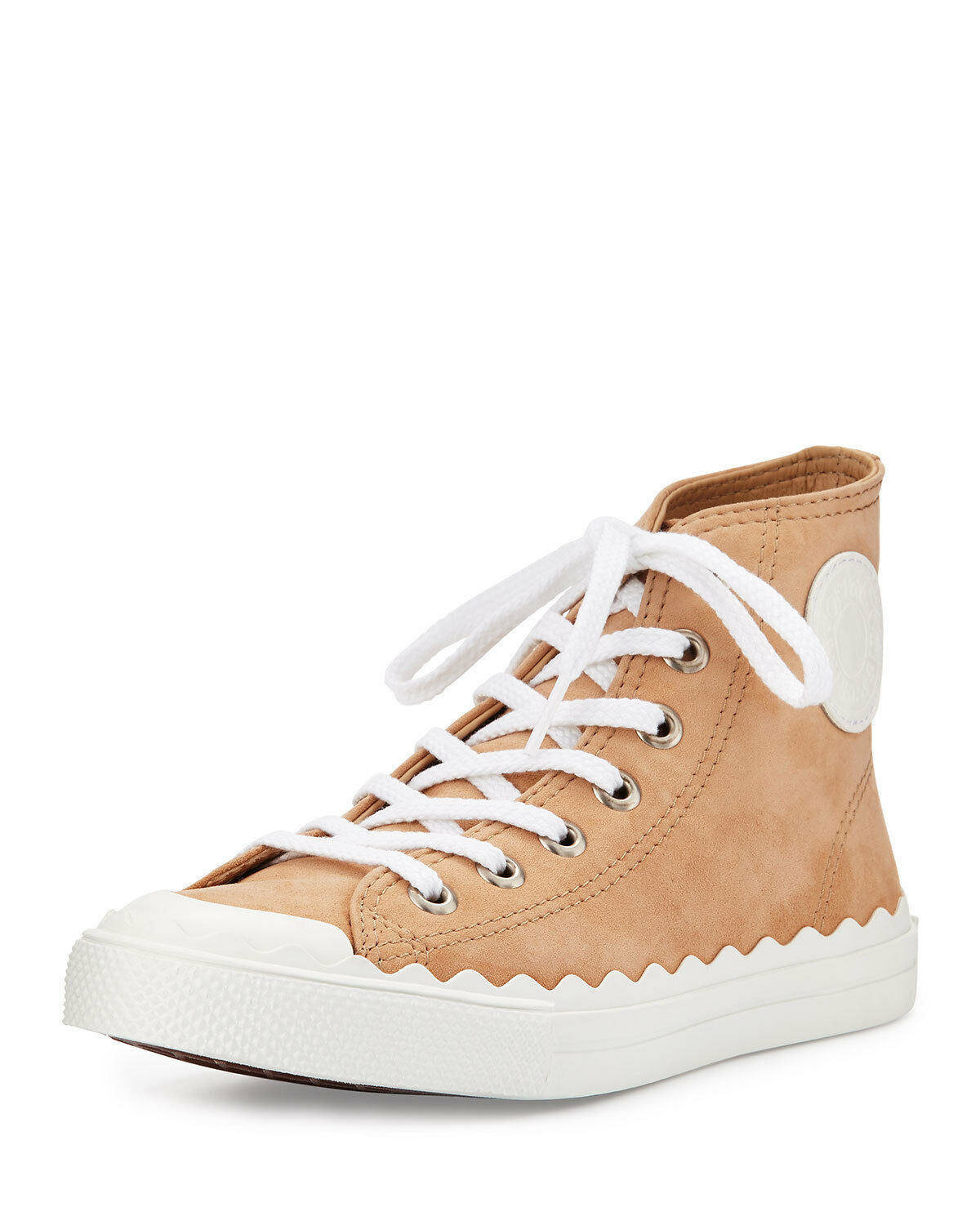 Chloé Kyle Suede 695 High-top Turnschuhe Stiefelie Flats  695 Suede 613e42