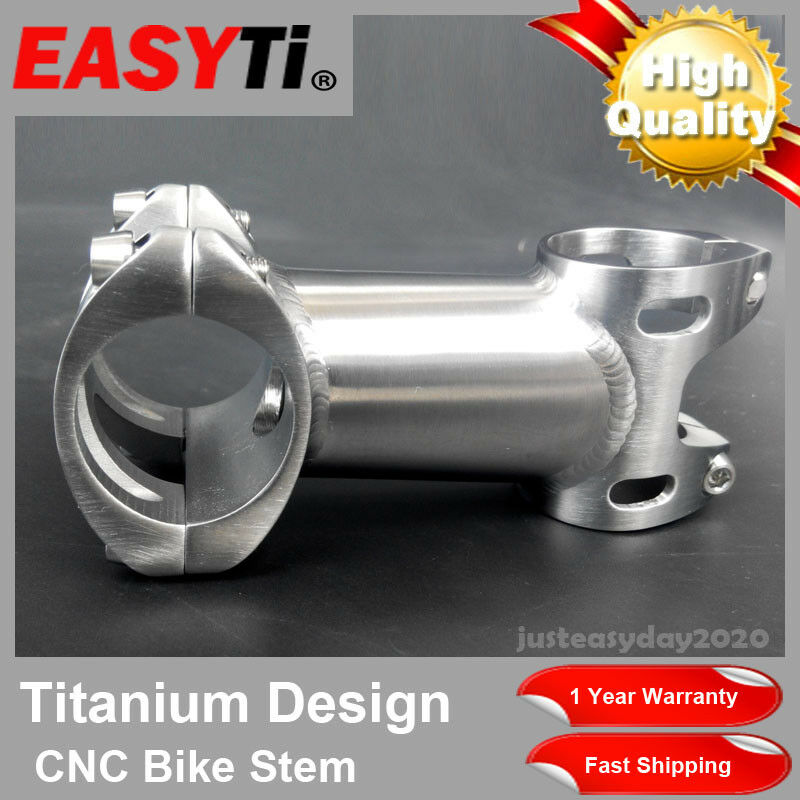 CNC Integrated Titanium Stem 25.4 31.8mm1-1  8 For Road&Mountain bike XC MTB FR  there are more brands of high-quality goods