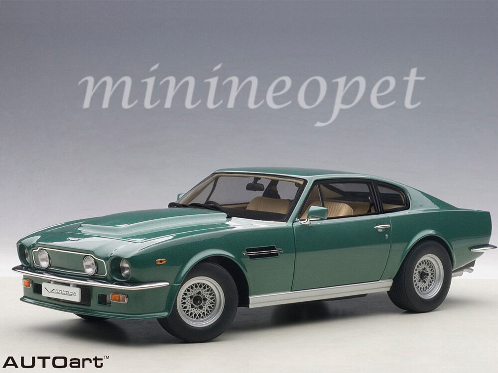 AUTOart 70224 1985 85 ASTON MARTIN V8 VANTAGE 1/18 MODEL CAR FOREST GREEN